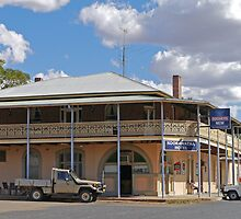 Koorawatha Hotel, New South Wales, Australia by Margaret  Hyde