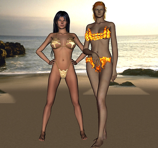Marianna And Samantha by willdavis