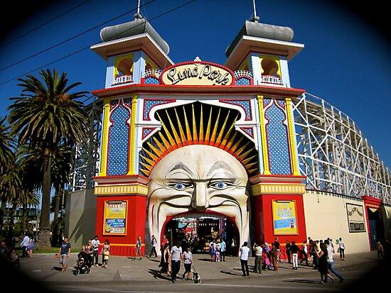 St Kilda - Luna Park by CJMcFarlane