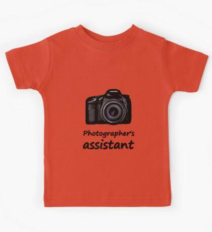 Photographer's assistant Kids Tee
