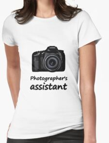 Photographer's assistant Womens Fitted T-Shirt