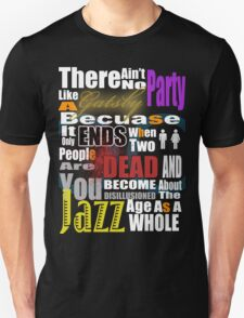 The Great Gatsby's Parties Unisex T-Shirt