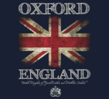 Oxford England UK Flag	 by FlagTown