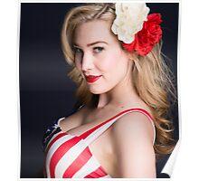 Blonde Bombshell Poster