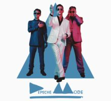 Depeche Mode Delta (blue) by AimLamb