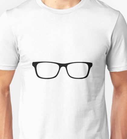 Nerdy Glasses Nerd Geek Unisex T-Shirt
