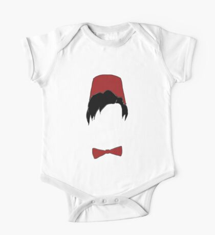Eleventh doctor fez and bowtie One Piece - Short Sleeve