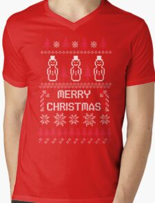 MERRY CHRISTMAS SNOWMAN PATTERN T-Shirt