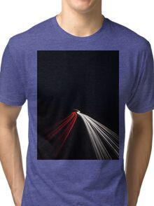 Light Trails Tri-blend T-Shirt