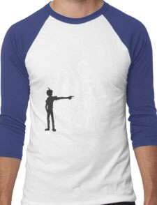 ding dong, you are wrong Men's Baseball ¾ T-Shirt