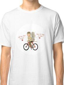 the walking heart/bike Classic T-Shirt