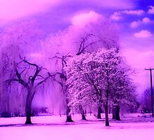 Infrared Park in St Neots Cambridge by printsbypixie