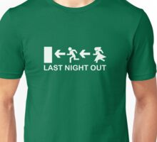 Bachelor's Last Night Out Unisex T-Shirt