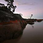 Binalong Bay Sunset 2 by Kylie Reid