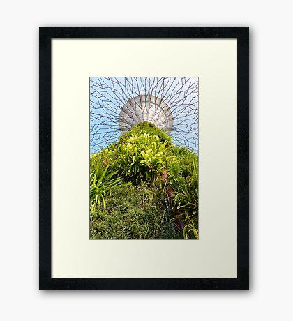 Gardens at the Bay Framed Print