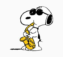 Snoopy Plays Sax Unisex T-Shirt