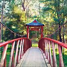 Chinese Bridge, Wandiligong by Linda Lees
