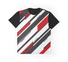 Black-Red Adrenaline Graphic T-Shirt