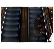 Escalator - Southbank Poster