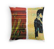 Incarnata Diptych #11 Throw Pillow
