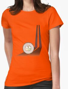 sushi in the table Womens Fitted T-Shirt