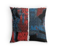 Incarnata Diptych #12 Throw Pillow