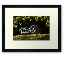 Brough Superior SS 100  Framed Print