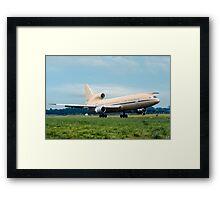Lockheed TriStar K.1 ZD951 Framed Print