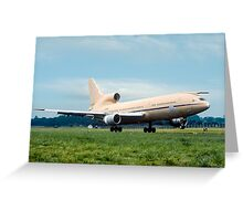 Lockheed TriStar K.1 ZD951 Greeting Card