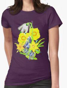 SPRING CORNUCOPIA TEE SHIRT/ BABY GROW, Womens Fitted T-Shirt