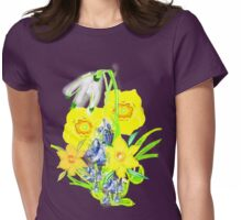 SPRING CORNUCOPIA TEE SHIRT/ BABY GROW, Womens Fitted T-Shirt