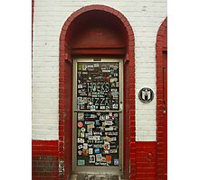 Doorway in Austin, TX Photographic Print