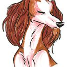 Brush Breeds-Saluki by Alexa H.J.