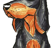 Brush Breeds-Black and Tan Coonhound by Alexa H.J.
