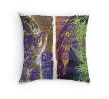 Incarnata Diptych #15 Throw Pillow