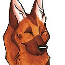 Brush Breeds-German Shepherd by Alexa H.J.