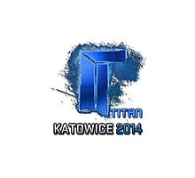 Titan Katowice 2014 Holo Sticker (HD) by TheRealFake