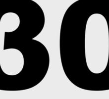 30 Sticker