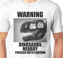 Design 5: Dinosaurs Nearby Unisex T-Shirt