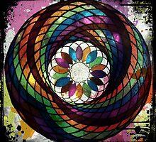 Splatter Ink Blossom by andjaxstudios