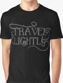 Travel Lightly with thorns Graphic T-Shirt