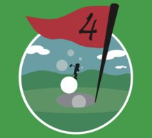 Design 10: Golfer Logo by 3DaysMade