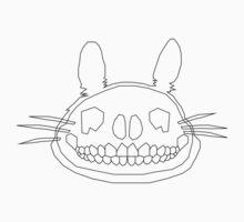 Totoro Skull by Louise Harrington