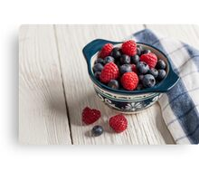 Just Berries Canvas Print