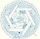 Oroboros Mandala by Daniel ML