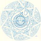 Sevenfold Spirit Mandala by Daniel ML