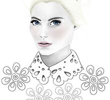 Fashion Illustration - Daisy by BeckiBoos