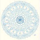 Dandelion Mandala by Daniel ML