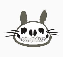 Totoro Skull Coloured by Louise Harrington