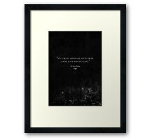 The Great Gatsby Framed Print